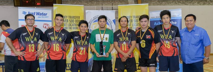 1st Runner Up Men's Volleyball in Auckland